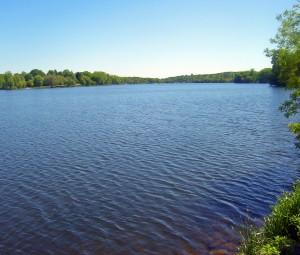 Строительство озера