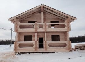 Строительство первых домов