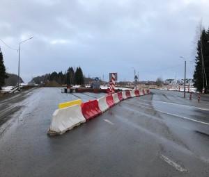 Продолжается строительство трассы Вологда — Молочное